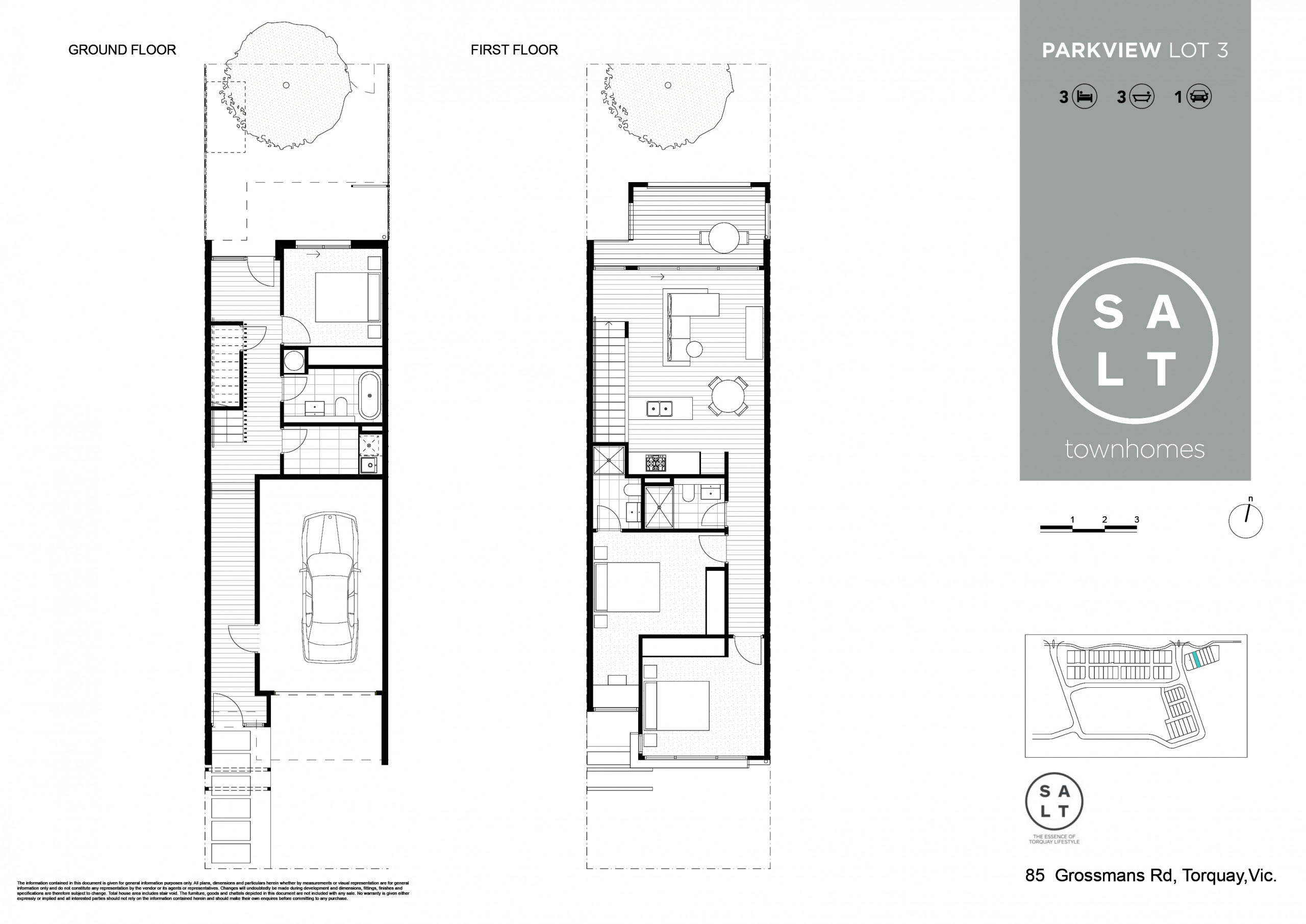 SALT Floor Plan Gardenview LOT 3
